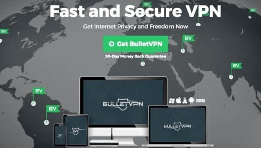 BulletVPN - Bästa MLB.TV VPN 2017