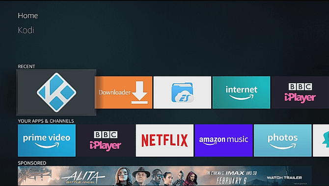 Kodi on Fire Stick