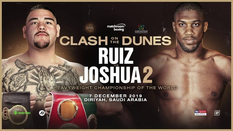 How to Watch Joshua vs. Ruiz 2 Live Online