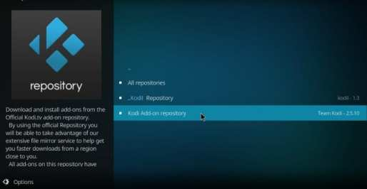 Kodi Add-on Repository