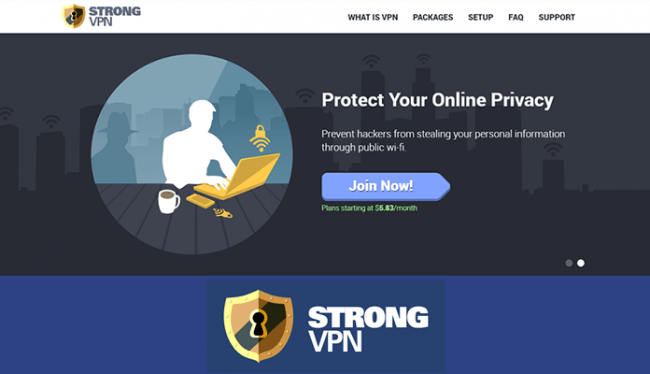 StrongVPN - Top 5 VPN for China in 2020 Review